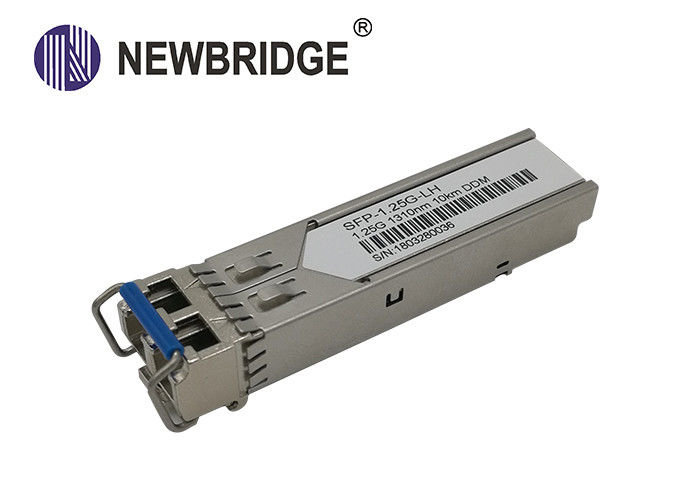 1.25G SFP Transceiver Module , Optical Transceiver Module Dual Fiber 1310nm for 10KM